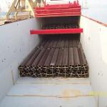 gen view of pipes stowage in lower as well in tweendeck